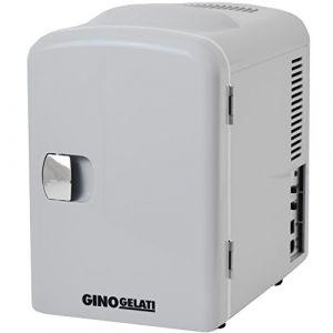 Gino Gelati 4L 2en 1Mini Réfrigérateur Glacière Boîte isotherme Camping Réfrigérateur 12& 220V, refroidit jusqu'à 25°C sous la température ambiante (Elektro Schnellversand, neuf)