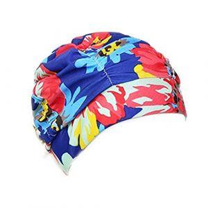 GUOjianhui Unisexe Bonnet de Bain Chapeau de Bain Bonnet Tissu Bonnet de Bain élastique Accessoires de Natation pour Sports Nautiques (3#) (GUOjianhui, neuf)