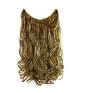 Rideau de cheveux ligne de pêche chimique de fibre perruque sans soudure pièce une seule pièce extension de cheveux, rouleau 10H22 (youweikeji, neuf)