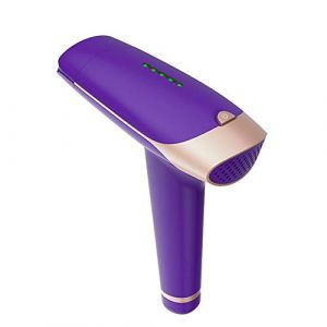 Nouvel instrument d'épilation pourpre de ménage, épilation à long terme sûre et sans douleur, application systémique répétée (Public-UK, neuf)