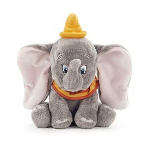 Disney - 37276P - Peluche - Dumbo L'éléphant - 25 cm - Gris (uktoyworld, neuf)