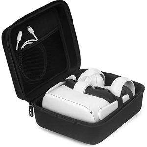 JSVER Housse de Protection pour Oculus Go, Cas Eva Dur Voyage Stockage Sac de Transport pour Samsung Gear VR/Oculus Go Virtual Reality Casque Gamepad Jeu Controller Kit (JsverDirect, neuf)