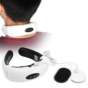 Masseur cervical, masseur électrique, masseur de dos intelligent masseur de cou électrique à impulsions thérapie magnétique masseur de vertèbres cervicales (Greeflu, neuf)