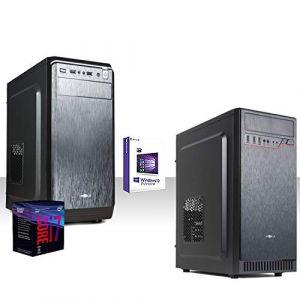 Ordinateur de bureau complet Intel i7-8700 4,6 GHZ Six Cœur / Intel Uhd Graphics 630 4K / Ram Ddr4 8 Go 2400Mhz /HD 1 To7200 tr/Wifi 300Mbps/Licence Windows 10 Pro/dvd-cd/Montage, Bureau,Graphiqu, (REALTECHNOLOGY, neuf)