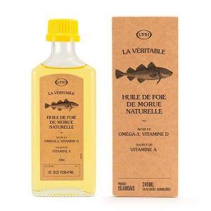 Huile de foie de morue naturelle 240ml - Lysi (DG Supplements, neuf)