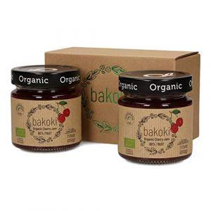 Bakoki® Premium Bio Cerise Confiture - 80% de fruits (2 x 200g) (MP-Store.eu, neuf)