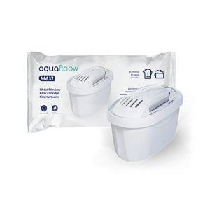 Wessper Aquafloow Cartouche Filtrante Compatible avec Brita Maxtra, AmazonBasics, Tassimo Machine - Pack 8 (agdmaster, neuf)