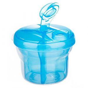 Doseur Poudre Lait de 3 compartiments Dosette Lait Bebe (Bleu) (Ouneed, neuf)