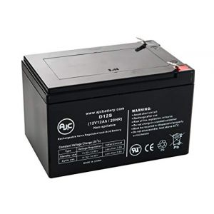 Batterie Peg Perego Vespa 12V 12Ah Scooter - Ce produit est un article de remplacement de la marque AJC® (BuyClerk France, neuf)