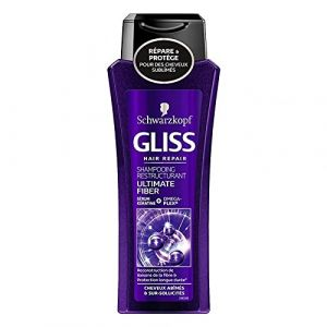 Schwarzkopf Gliss Hair Repair Shampooing Restructurant 250ml (lot de 4) (SELFDRiNKS, neuf)