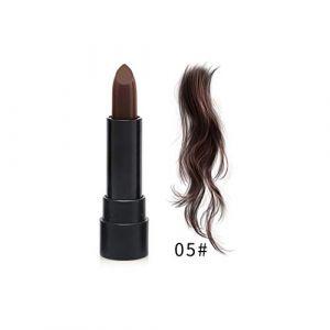 Rouge à lèvres temporaire pour cheveux, craie de cheveux, bâton de couleur de cheveux, teinture de cheveux jetable, couvrez votre bâton de retouche de couleur de cheveux gris par KISSION (Lucktar, neuf)