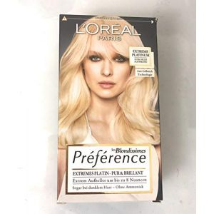 L'Oréal Paris Préférence Infinia Coloration Extreme Platinum 1 paquet (Beauteprice, neuf)