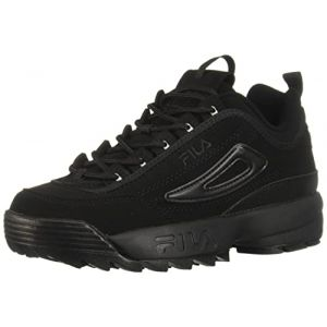 Fila Youth Disruptor II Synthetic Triple Black Formateurs 36 EU (gamasport, neuf)