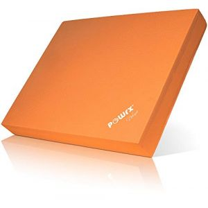 Pilates Balance Pad de POWRX / Coussin d'équilibre / Yoga/ differentes couleurs (Orange) (POWRX GmbH, neuf)