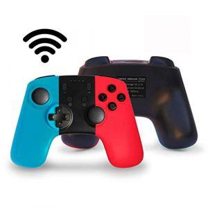 JFUNE Switch Controller 9.0, Pro Contrôleur Manette sans Fil pour Nintendo Switch, Bluetooth Gamepad Wireless Switch Pro Controller (GLS-EU, neuf)