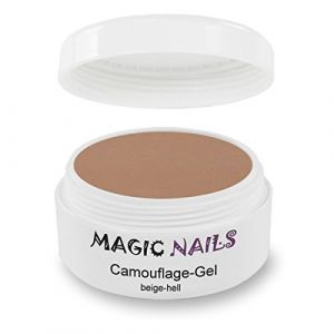 Magic Nails Gel Maquillage Cover Camouflage Beige clairÂ–30ml (Tina Cini, neuf)