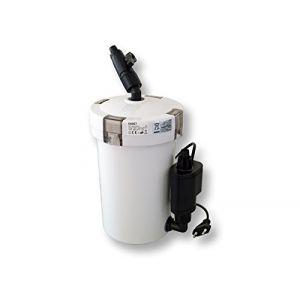 SunSun HW-603B Aquarium Bio Filtre extérieur 400l/h 3-Phases Matériaux et Pompe (WilTec Wildanger Technik GmbH, neuf)