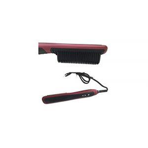 mondoshop–Brosse Lisseur pour cheveux lisses et soyeux thermique avec peigne ionique (MONDOSHOP, neuf)