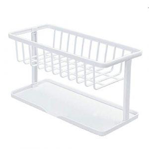 Étagère d'angle, organisateur d'angle salle de bain étagère Caddy étagère de rangement de cuisine support cuisine ? salle à manger et bar (FOOD HINK, neuf)