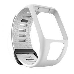 Bracelet de Montre en Silicone pour Tom Tom Runner 2/3 Bracelet de Étanche et Sport pour Tomtom Golfer 10 Adventurer (YVYV-FR, neuf)