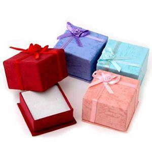 Boîte Coffrets cadeaux avec couvercles for stockage de bijoux, couleur aléatoire, 24pcs Bijoux (foreverde8, neuf)