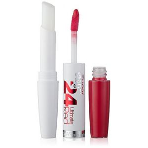 Maybelline Super Stay 24 Hour Ultimate Red Lipstick Number 475, Hot Coral by Maybelline (glorycosmetics, neuf)