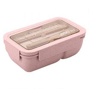Portable Pliant, Micro-ondes Boîte À Lunch Pique-Nique Alimentaire Fruits Conteneur Boîte De Rangement Pour Enfants Cuisine Adulte (FOOD HINK, neuf)