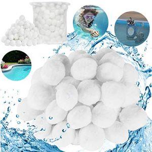 Fiyuer Balles Filtrantes Piscine Filtres à Sable Filtrage de l'eau Média Filtre à Fibres pour Piscine (Fiyuer, neuf)