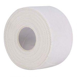 1 rouleau de ruban adhésif de soin sportif blanc pour entraîneur sportif, reliure sportive, joints de sanglage, soutien (XingYue Direct, neuf)