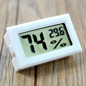 Szaerfa Digital LCD Thermomètre Hygromètre Température Humidité -50~70 ? 10% ~ 99% RH (Blanc) (szaerfa, neuf)