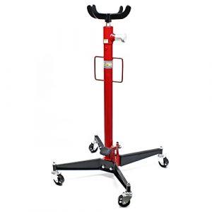 WilTec Vérin de fosse pour Boite à vitesse Cric hydraulique Appareil levage Moteur 500kg Jack Transmission (WilTec GmbH, neuf)