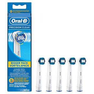 Oral-B 609897 Brossette de Rechange pour Brosse à Dent Precision Clean EB20-5 (Gerardiana Boutique, neuf)