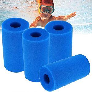 Éponge Filtrante Type A,Mousse pour Filtre Piscine,Éponge Filtrante de Piscine ,Cartouche de filtre en mouss,Filtre Piscine Lavable Reutilisable,filtre pour jacuzzi,éponge filtrante aquarium (20*10) (Shellnee, neuf)