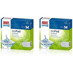 Juwel Lot de 2 cartouches de filtre Bioflow 3.0 Compact / bioPad M Pack de 5 (Tradomi, neuf)