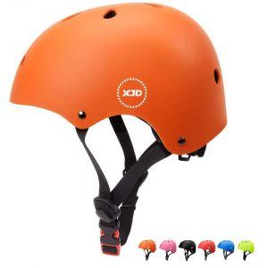 """XJD réglable Casque pour Enfant Kid Casque de vélo pour Multisport BMX Cyclisme Skateboard, XJD-KH105M, Orange, M: 55-57 cm / 21.65""""-22.44 (XJD Store, neuf)"""