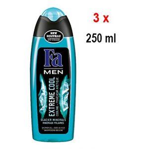 Fa Gel douche Men Extreme Cool Lot de 3 (3 x 250 ml) (IwonaTEC, neuf)