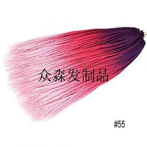 GWSJF Extension de cheveux de couleur noire africaine dégradé-5 Fête Costumée Vêtements de Déguisement Costumes (maokushipin, neuf)