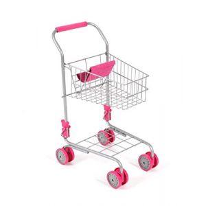 Bayer Chic 2000-Chariot de supermarché, 760 30, Rose Bonbon (Toys World France, neuf)