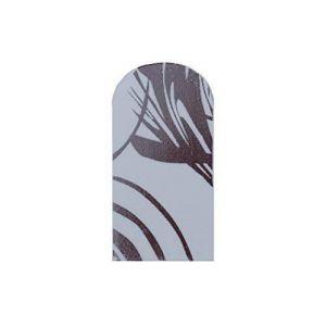 Nagelfolien Wilde & Popart - 743 Wavy Fleuret (EuBeCos Professional Nail Products, neuf)