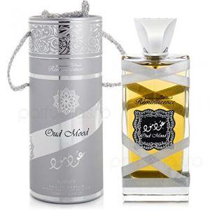 New Tawakkal Perfumes - Eau de parfum Oud Mood Reminiscence de Lattafa Perfumes - Frais et oriental (BUSINESS SQUARE, neuf)