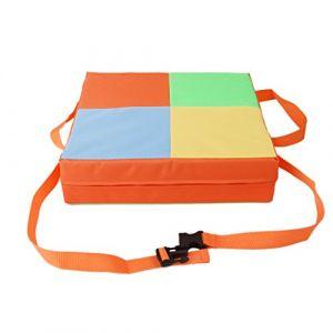 Coussin d'appoint Réhausseur en Tissu Oxford pour Chaise de Salle à Manger Enfant - Multicolore #1, 17 * 9cm (Lance Home, neuf)