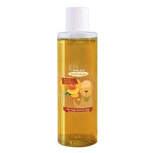 OVER ZOO Shampoing Naturel Soin pour Chien et Chiot (200 ml) Frutti Power Mangue – PH-neutre (JMFA LTD, neuf)