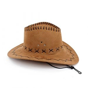 Chapeau de cow-boy HMILYDYK - Pour déguisement (HMILYDYK, neuf)