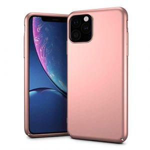 """Coque pour iPhone 11 Pro Max, Matière PC - 6.5"""" - [Ultra Mince] [Ultra Léger] Anti-Rayures, Anti-dérapante pour iPhone 11 Pro Max 6.5pouces(2019) (Or Rose) (MuSheng, neuf)"""