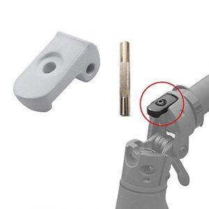 aibiku Boucle Déployante + Goupille pour Xiaomi Mijia M365 Trottinette Électrique - Pièces de Électrique Scooter (Blanc) (Imcool, neuf)