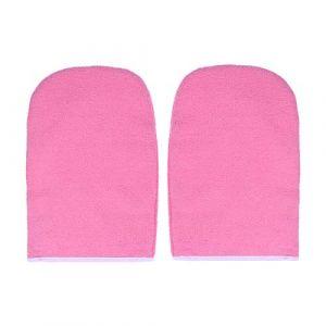 Lurrose 1 paire de gants de cire de paraffine gants de bain de traitement des mains mitaines traitement thermique Spa Therapy pour machine à cire de paraffine (Veronicoar, neuf)