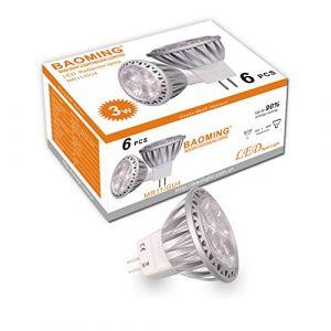 BAOMING Ampoule LED Spot GU4 Led MR11 35W halogène équivalent 12 V DC/AC 3 W 250lm 30 ° Angle de faisceau Blanc chaud 2700 K ampoules LED Lot de 6 unités (BAOMING, neuf)