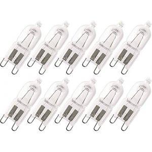 Osram lot de 10 ampoules halopin eco halogène avec culot à broches g9 230 v, G9 48|wattsW 230|voltsV (Lichtspiel UG, neuf)
