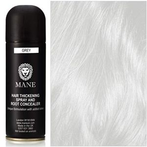 Mane Spray epaississant pour cheveux fins - couleur Grey - 200 ml (Mane Hair Thickening Products, neuf)