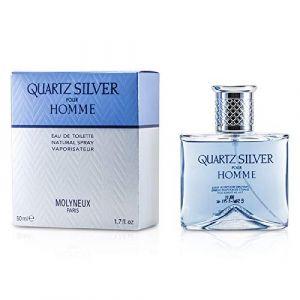 Quartz Silver par Molyneux Eau De Toilette Spray 50ml (La-boutique des series, neuf)